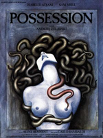 Possession d'Andrzej Zulawski (affiche par Basha/Barbara Baranowska)