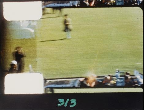 Photogramme 313 du film d'Abraham Zapruder