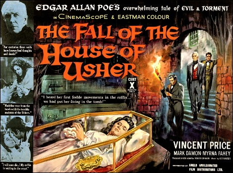 La chute de la maison Usher (Roger Corman, 1960)
