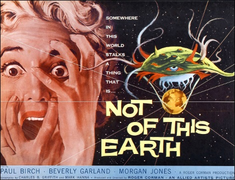 Not of This Earth (Roger Corman, 1957)