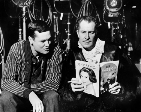 Roger Corman et Vincent Price