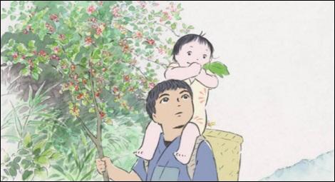 Le Conte de la princesse Kaguya (Isao Takahata, 2013)